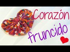 Tutorial: Corazones fruncidos. - YouTube