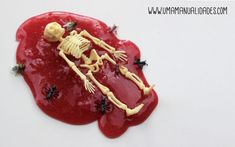 Cómo hacer Slime Halloween, Ideas, Diy, Decoration Crafts, Bricolage, Do It Yourself, Thoughts, Homemade, Diys