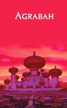 Disney Locations - Aladdin