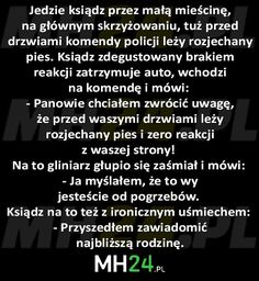 Jedzie ksiądz przez małą mieścinę… – MH24.PL – Demotywatory, Memy, Śmieszne obrazki i teksty, Filmiki, Kawały, Dowcipy, Humor Text Memes, Wtf Funny, Man Humor, Motto, Deadpool, Best Quotes, Texts, Jokes, Lol