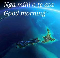 Good morning Maori Words, Maori Art, Cbt, Sign Language, Kids Education, Outdoor Activities, New Zealand, Good Morning, Preschool