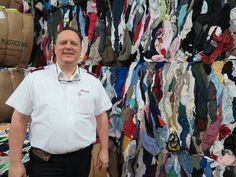 Springfield Salvation Army's recycled textiles help fund its drug and alcohol rehab program.