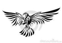 Resultado de imagem para tatuagem aguia tribal                              …
