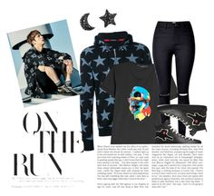 """""""spring day"""" by cruzfloramaejoy on Polyvore featuring Guild Prime, Karl Lagerfeld and Gucci"""