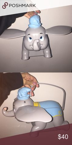 Dumbo popcorn bucket Hard to find.  BUNDLES=BETTER DEALS 😊 USE THE OFFER BUTTON TO NEGOTIATE PRICE 💙 NO TRADES🚫 DONT ASK WHATS MY LOWEST🚫 ASK QUESTIONS👍 Disney Other