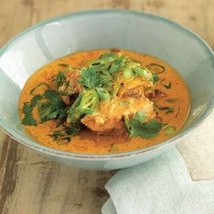 Slow Cooked Braised Duck in Red Curry - Recipe from Anthony Worrall Thompson -- make in slow cooker!