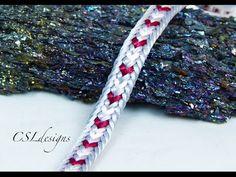 Triple row goddess wirework macrame ring - YouTube