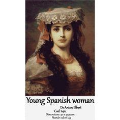 Set Goblen Young Spanish woman http://set-goblen.ro/portrete/4189-young-spanish-woman.html