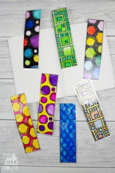 DIY Colouring Page Bookmarks.  Make your own Bookmarks with these adorable DIY colouring page bookmarks free printable. This unisex free download is perfect for kids of all ages.