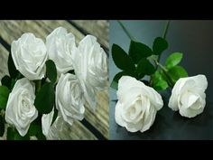 3 Ways to Make Roses with Toilet Paper -- Flowers DIY Toilet Paper Flowers, Paper Flowers Diy, Diy Pins, Projects To Try, Paper Crafts, Make It Yourself, Roses, Holiday, Wedding