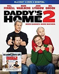 One lucky winner will receive a code to download Daddy's Home 2! This giveaway is open to U.S. residents and ends at 11:59 PM EST on Sunday, March 4, 2018.