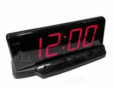 Large Display Digital Clock | eBay Alarm Clocks, Digital Clocks, Alarm Clock