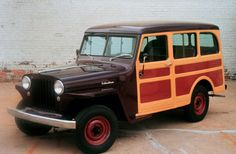 Pictures of Vintage Jeeps: 1949 Willys Wagon