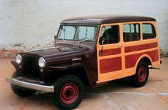 1955 chrysler station wagon   Willys Wagon: 1946 - 1965