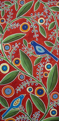 Birds In Blooms by karlagerard, via Flickr