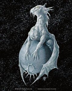 Pluto Dragon by Rob Carlos