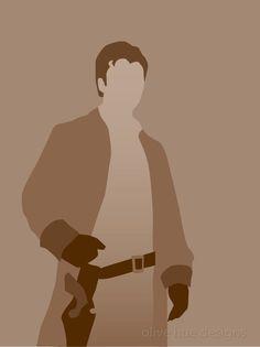 Captain Malcolm Reynolds, Firefly minimalist poster