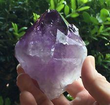 A22, BRAZIL  Natural Amethyst Quartz Crystal Trigonic Record Keeper Point