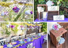 Floral Details from a great wedding at Rincon Beach Club