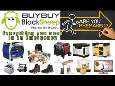 Everything you need for emergencies portable generator survival camping Camping Generator, Portable Inverter Generator, Emergency Power, Survival Tools, Solar Energy, Everything, Cool Stuff, Generators, Youtube