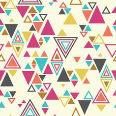 Super-amazing upcoming fabric from Rashida Coleman-Hale. Triangles!