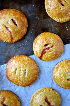 Skip the slice of pie in favor of this quick and easy recipe for buttery hand pies filled with fresh strawberries and Nutella.