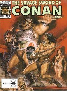The Savage Sword of Conan (1977)  A novel by Robert E Howard