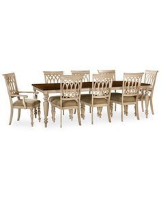 two-tone marsilona dining room ashley furniture | home wishlist