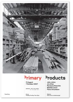 Primary Products.