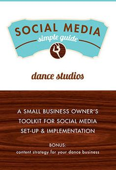 Social Media E-Guides For Small Business. Industry specific guides for implementing and operating social media. Dance studios, real estate, craft businesses, small retail and more.