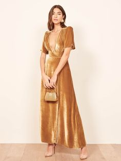 Get Ready for Party Season In A Velvet Dress 954cc8200