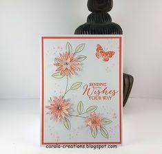 Carola's Creations: Stampin'Up! Grateful Bunch Hallo, Het kaartje va...