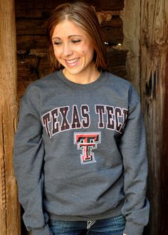 Cute Sweatshirt (TEXAS TECH)