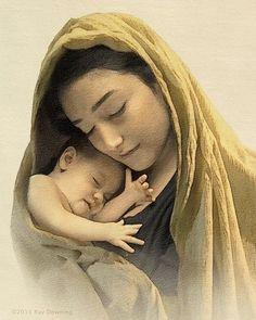 Maria y el Nino - Ray Dowining. Sweet image