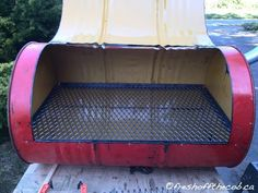 The Oil Drum BBQ and Smoker – FRESH OFF THE COB