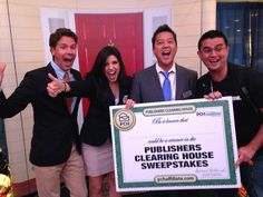 Via Danielle Lam.......More Publishers Clearing House fun at  #ASE14! #prizepatrol #affiliatesummit #pchaffiliate #affiliatemarketing