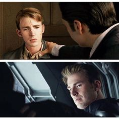 Parallels between First Avenger and Civil War - Shoulder clasp