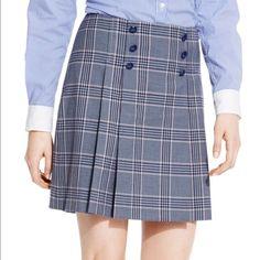 Tommy Hilfiger plaid skirt NWT Tommy Hilfiger plaid school girl skirt. Adorable! Run a little big Tommy Hilfiger Skirts