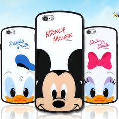 Genuine Disney Soft Bumper Case iPhone 6/6S Case iPhone 6/6S Plus Case Korea #Disney