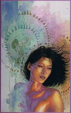 Kabuki by David Mack. The most beautiful graphic novel I have ever read.