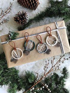 Rustic Woodland Christmas Ornaments Boho Woodland Nursery