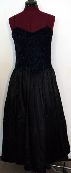 Vintage Sparkly Gunne Sax Gown by Abbeh on Etsy, $35.00