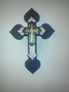 16 Inch Triple Stacked cross