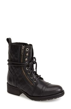 705dc28ce7b Steve Madden  Yanki  Quilted Leather Mid Boot (Women)