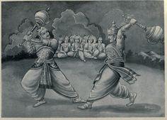 Uttarakhand: Temples devoted to Duryodhana and Karna of Epic Mahabharata Lord Rama Images, The Mahabharata, Hindu Culture, Coloring Book Art, Lord Krishna Images, Indian Art Paintings, Epic Art, Hindu Art, Sacred Art