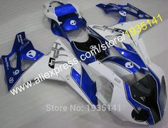 Hot Sales,For BMW S1000RR fairings kit 10 11 12 13 14 S 1000RR Cowling S1000 RR 2010-2014 blue white black (Injection molding)