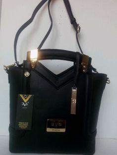 New With Tag Versace 1969 Abbigliamento Sportivo Leather Crossbody Handbag d790f8c627fdd
