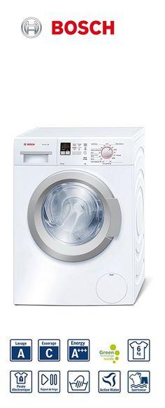 Série 6 - lave-linge frontal slimline | Capacité : 1 à 6kg | Volume du tambour : 46L