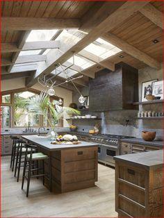 Rustic Kitchen Design, Luxury Kitchen Design, House Kitchen Design, Best Kitchen Designs, Rustic Design, Cozy Kitchen, Kitchen Decor, Kitchen Ideas, Kitchen Wood