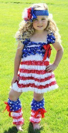 Patriotic Dress Set-wholesale of july dress 4th Of July Dresses, Patriotic Dresses, 4th Of July Outfits, Holiday Outfits, Kids Outfits, Blue Outfits, Holiday Clothes, Holiday Wear, Holiday Fun